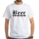 Beer White T-Shirt