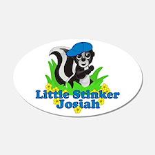 Little Stinker Josiah 22x14 Oval Wall Peel