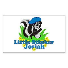 Little Stinker Josiah Decal