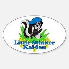Little Stinker Kaiden Sticker (Oval)