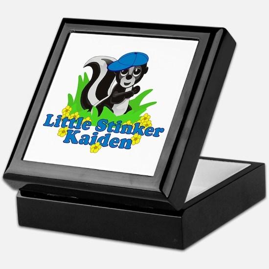 Little Stinker Kaiden Keepsake Box
