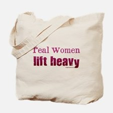 Real women lift heavy Tote Bag