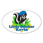Little Stinker Kevin Sticker (Oval 10 pk)