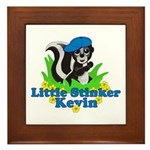 Little Stinker Kevin Framed Tile
