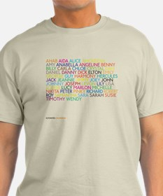 Unique Name of songs T-Shirt