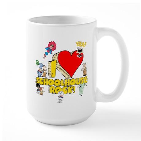 I Heart Schoolhouse Rock! Large Mug