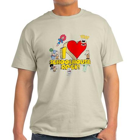 I Heart Schoolhouse Rock! Light T-Shirt