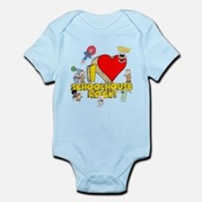 I Heart Schoolhouse Rock! Infant Bodysuit