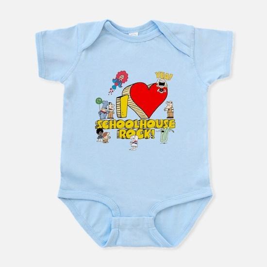 I Heart Schoolhouse Rock! Infant Bodysuit
