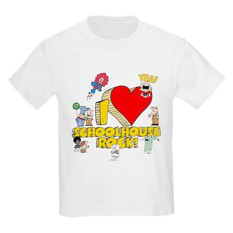 I Heart Schoolhouse Rock! Kids Light T-Shirt