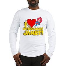 I Heart Interplanet Janet! Long Sleeve T-Shirt