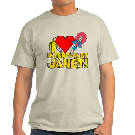 I Heart Interplanet Janet! Light T-Shirt