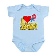 I Heart Interplanet Janet! Infant Bodysuit