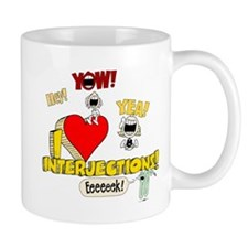 I Heart Interjections Mug