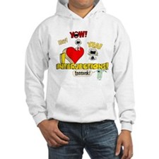 I Heart Interjections Hoodie