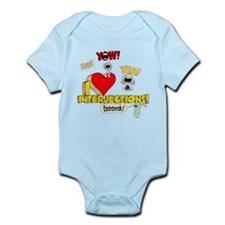 I Heart Interjections Infant Bodysuit