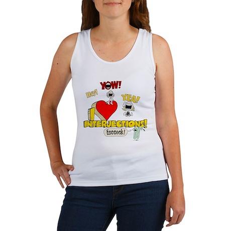 I Heart Interjections Women's Tank Top