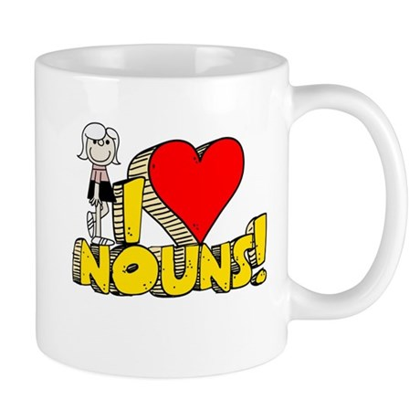 I Heart Nouns - Schoolhouse Rock! Mug