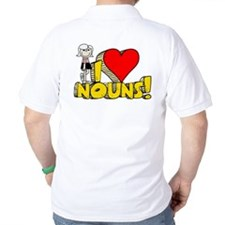 I Heart Nouns - Schoolhouse Rock! Golf Shirt