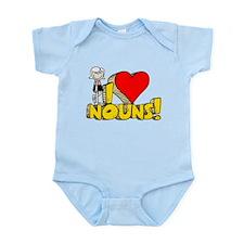 I Heart Nouns - Schoolhouse Rock! Infant Bodysuit