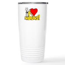 I Heart Nouns - Schoolhouse Rock! Travel Mug