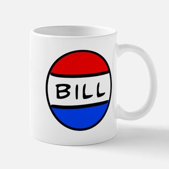 Bill Button Mug