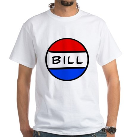 Bill Button - Schoolhouse Rock! White T-Shirt
