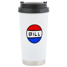 Bill Button Travel Coffee Mug