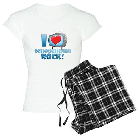I Heart Schoolhouse Rock Women's Light Pajamas
