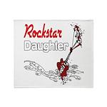 Rockstar Daughter Throw Blanket