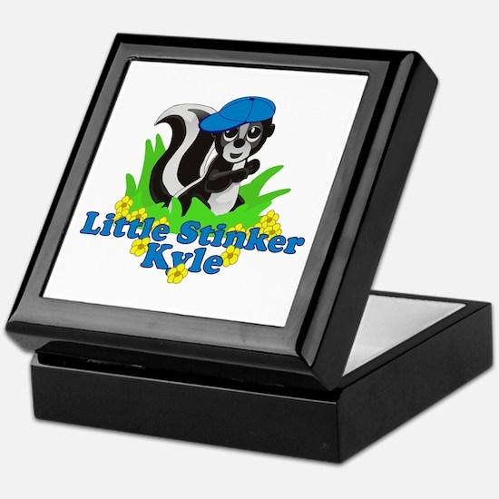 Little Stinker Kyle Keepsake Box