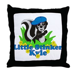 Little Stinker Kyle Throw Pillow