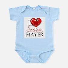I Heart Susan Mayer Infant Bodysuit