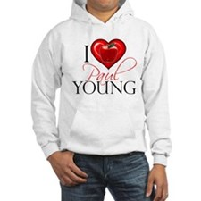 I Heart Paul Young Hoodie