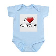 I Heart Castle Infant Bodysuit