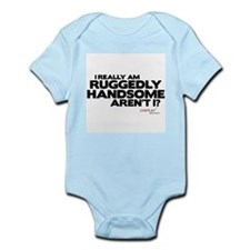 Ruggedly Handsome Infant Bodysuit