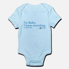 I'm Bailey. I Know Everything Infant Bodysuit