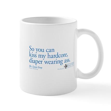 Hardcore Diaper - Grey's Anatomy Mug