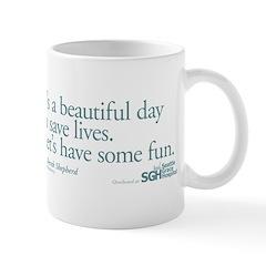 Save some lives. - Grey's Anatomy Mug