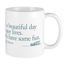 Save some lives. - Grey's Anatomy Small Mug