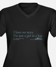 Girl in a Bar - Grey's Anatomy Quote Women's Plus
