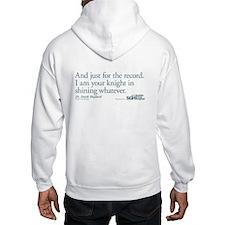 For the Record... - Grey's Anatomy Hooded Sweatshi