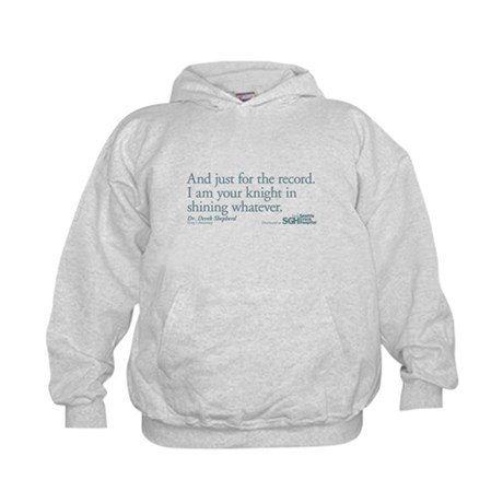 For the Record... - Grey's Anatomy Kids Hoodie