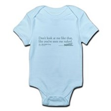 Don't look... - Grey's Anatomy Infant Bodysuit