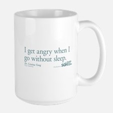 I get tired... - Grey's Anatomy Large Mug