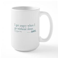 I get tired... - Grey's Anatomy Large Mug