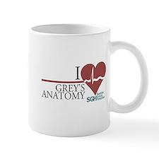 I Heart Grey's Anatomy Mug