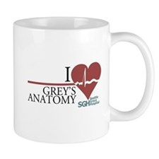 I Heart Grey's Anatomy Small Mug