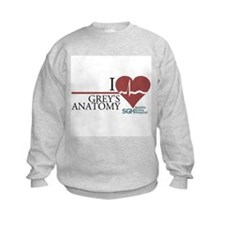 I Heart Grey's Anatomy Kids Sweatshirt