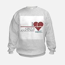 I Heart Grey's Anatomy Sweatshirt